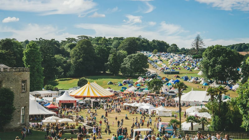 Port Eliot Festival in Cornwall