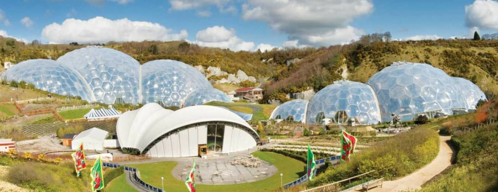 things to do in cornwall when its raining - eden project