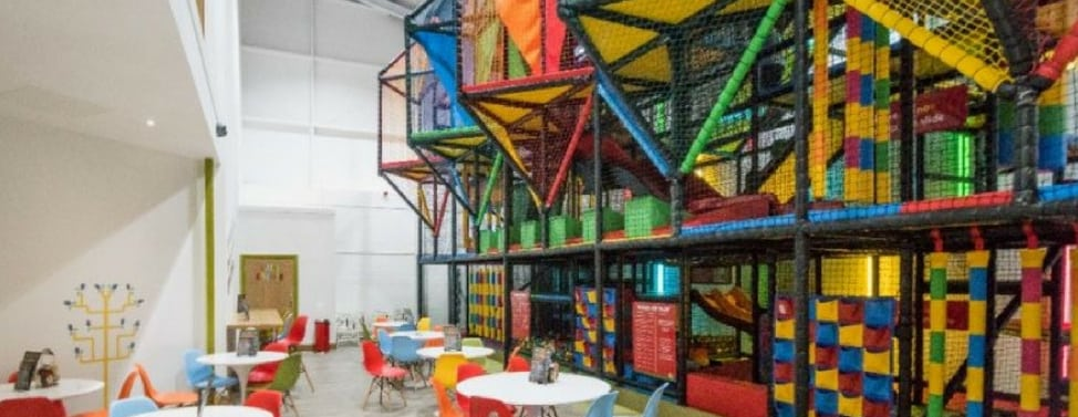soft play in Cornwall- indoor active