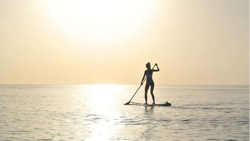 stand up paddle boarding in cornwall - cool places in Cornwall